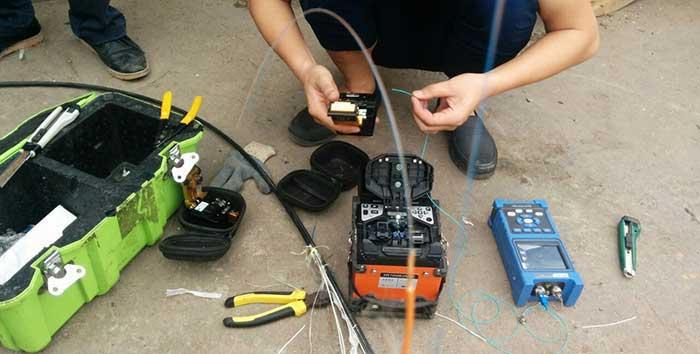 Hàn nối đo kiểm khắc phục sự cố quang