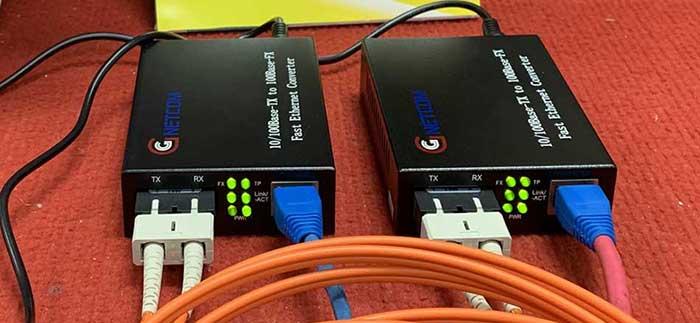 Converter GNC-1211S-20 hoàn toàn có thể chạy cáp multimode