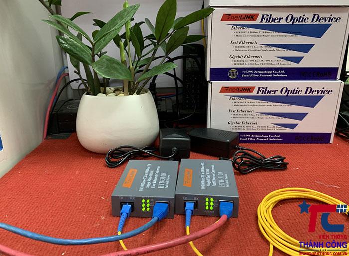 Bộ chuyển đổi quang điện HTB-3100AB25Km