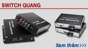 Bộ chuyển đổi video quang và hdmi quang