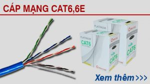 cáp mạng cat6, cat6e