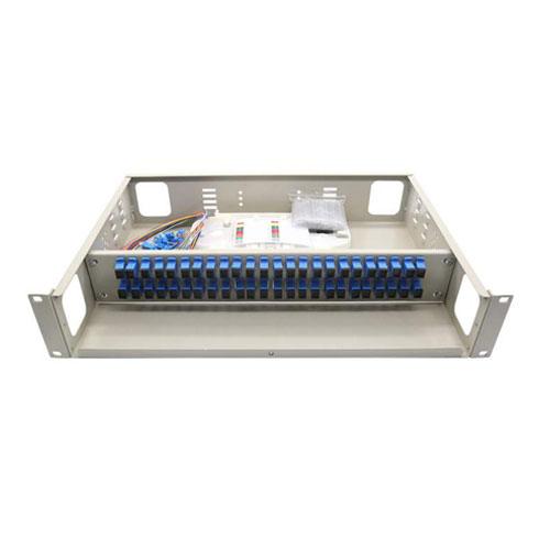 ODF 48FO bắt rack – Hộp phối quang 48FO bắt rack full phụ kiện