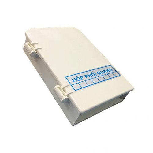 ODF 8FO Vỏ Nhựa Full phụ kiện – Hộp phối quang 8 cổng quang
