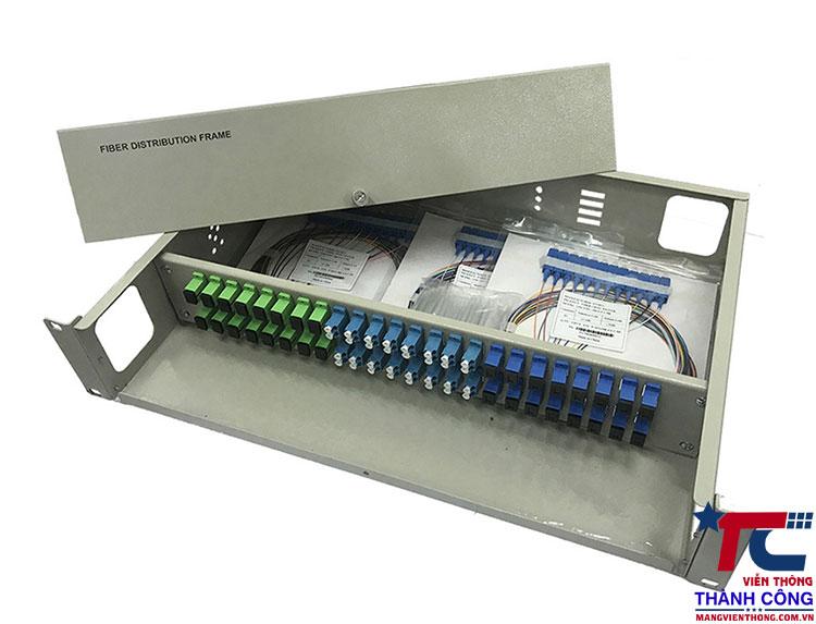hộp phối quang odf 48 lắp rack