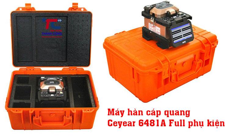 máy hàn cáp quang máy hàn cáp quang Ceyear 6481A full phụ kiện