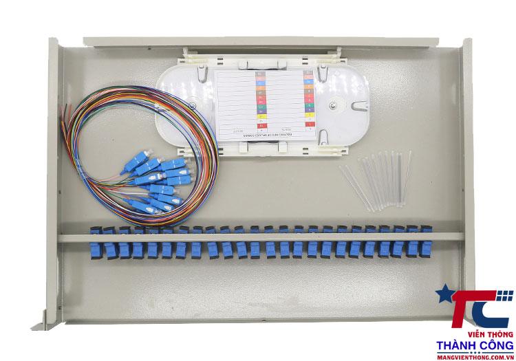 odf 24fo lắp rack full phụ kiện