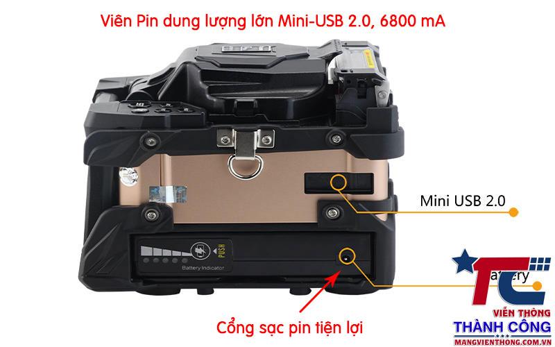 Pin máy hàn tumtec v9 mini