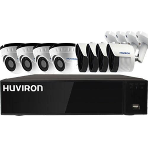 Bộ KIT Camera IP Huviron 8 Mắt