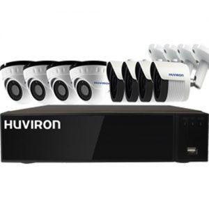 Bộ KIT Camera POE Huviron 8 Mắt