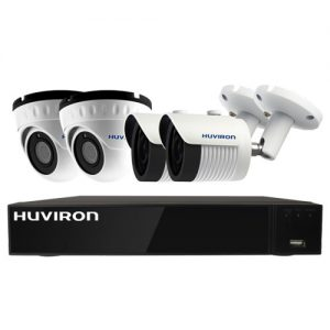 Combo Camera Huviron IP 4 Mắt