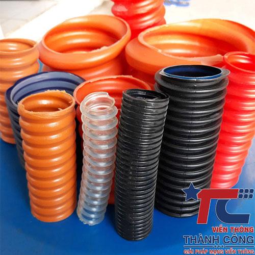 Ống nhựa bảo vệ cáp quang gân xoắn HDPE