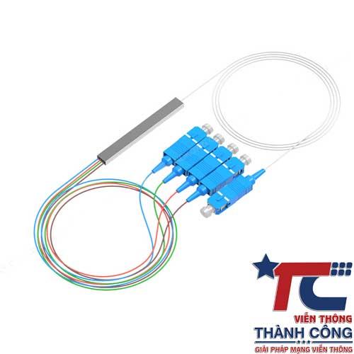 Bộ chia quang splitter 1×4 – Optical Splitter PLC 1:4 chính hãng, giá rẻ