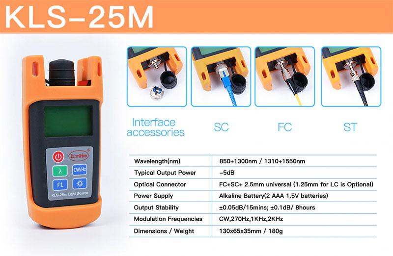 Máy đo công suất Komshine KPM-25M