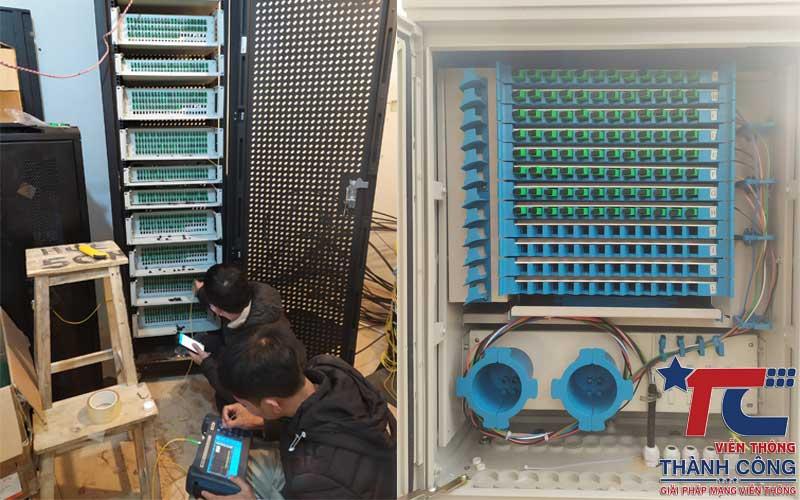 Đo kiểm lưu kết quả Hàn cáp quang tủ ODF 96, 144Fo
