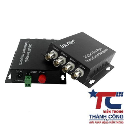 BTON BT-HD4VF-T/R – Bộ chuyển đổi Video sang quang giá rẻ