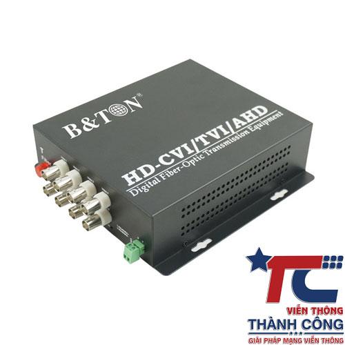 BTON BT-HD8VF-T/R – Bộ chuyển đổi Video sang quang giá rẻ