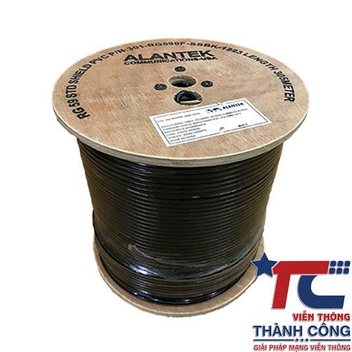 Cáp Đồng Trục Alantek RG060F – Cáp nhập khẩu RG6 chính hãng