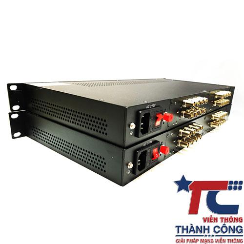 Gnetcom HL-16V-20T/R – Bộ chuyển đổi Video sang quang giá rẻ