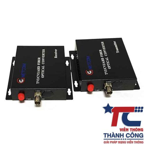 Gnetcom HL-1V-20T/R – Bộ chuyển đổi Video sang quang giá rẻ
