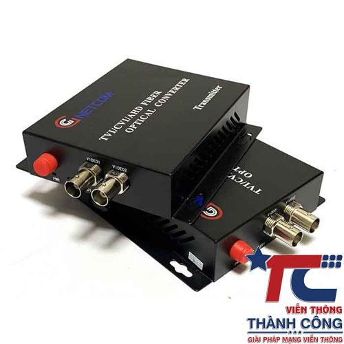 Gnetcom HL-2V-20T/R – Bộ chuyển đổi Video sang quang giá rẻ