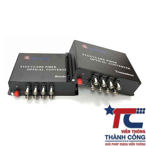 Gnetcom HL-8V-20T/R – Bộ chuyển đổi Video sang quang giá rẻ