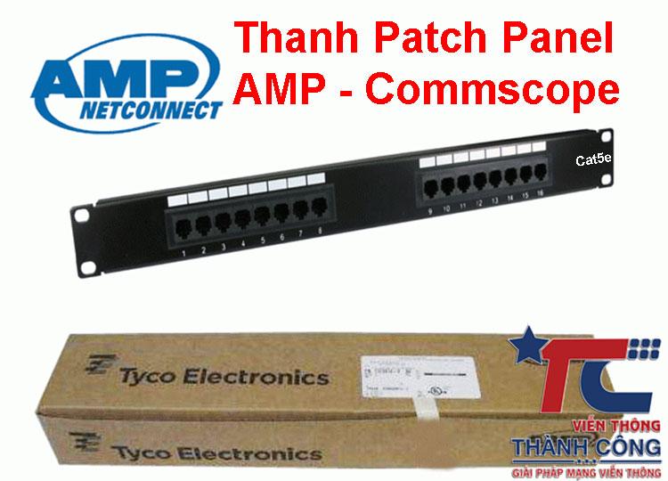 Patch Panel Commscope 24Port Cat5e