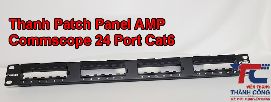 Patch Panel Commscope 24Port Cat6