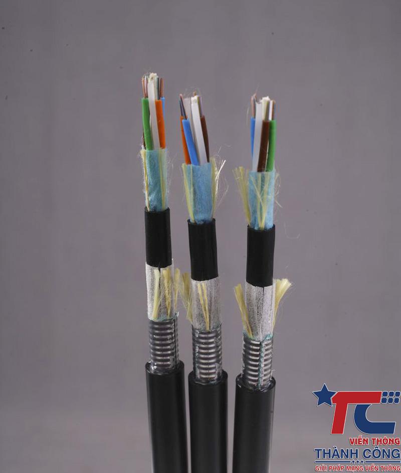 Cáp quang cống kim loại 48FO Postef Singlemode