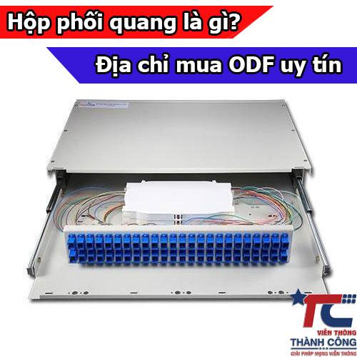 Hộp phối quang ODF là gì