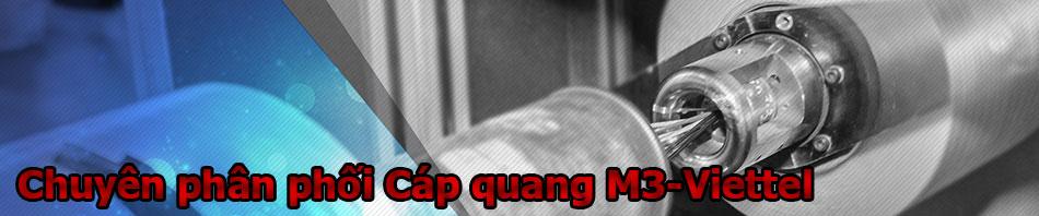 Địa chỉ mua bán cáp quang Viettel-M3 Singlemode tại Hà Nội