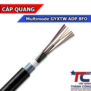 Cáp quang Multimode 8FO GYXTW ADP OM2