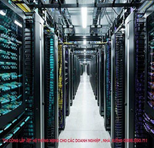 Xây dựng hạ tầng mạng cho doanh nghiệp, thi công mạng lan