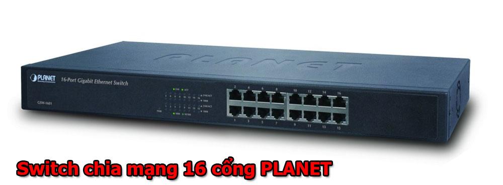 switch chia mạng 16 cổng PLANET