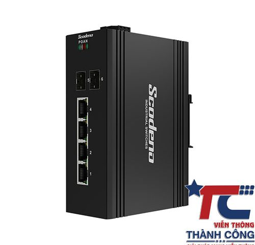 Switch công nghiệp 6 port Scodeno