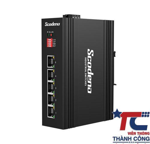 Switch công nghiệp Scodeno 5 Port XPTN-9000-65-5TX(P) 10/100M