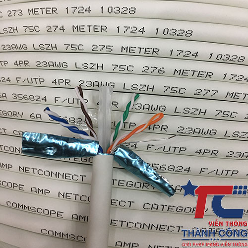 Cáp mạng Cat6 FTP Commscope 1859218-2