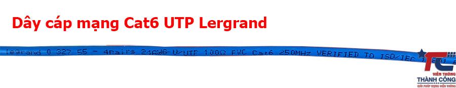 Cáp mạng Cat6 UTP Lergrand