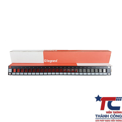Thanh Patch panel Cat5e Legrand 24 Port 623703
