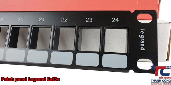 Patch panel Cat5e Lergrand 24 cổng