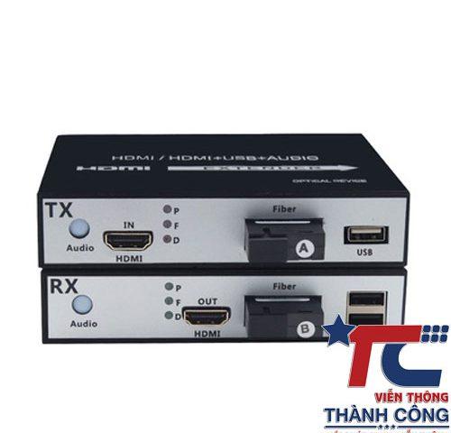 Bộ Chuyển HDMI Quang GL-HDMI-USB-20S – Khoảng Cách 20KM