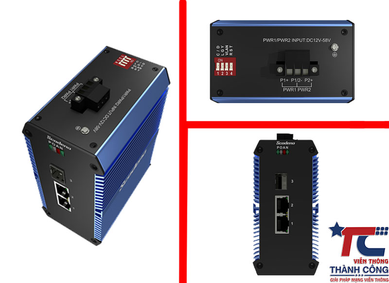 Industrial Ethernet Switches Unmanaged Scodeno
