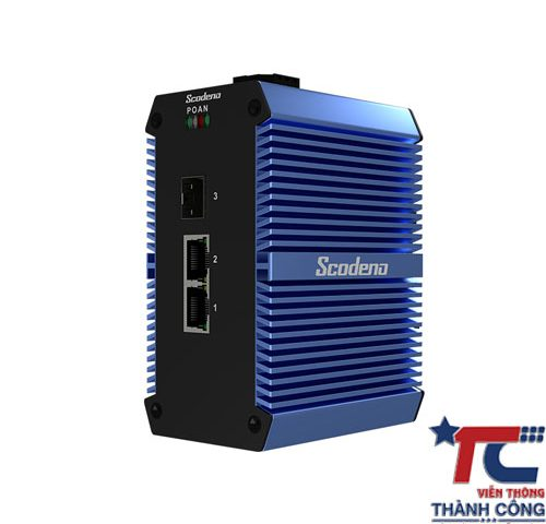 Switch công nghiệp Scodeno Xblue 3Port XPTN-9000-65-1GX2GT-X