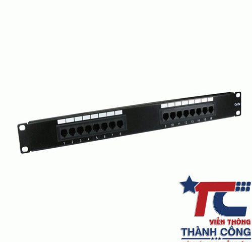 Patch panel Cat6 UTP 9-1375055-2 48port Commscope hàng chính hãng